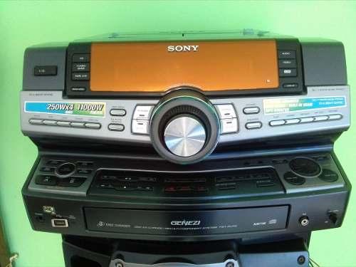 Equipo De Sonido Sony Genezi Modelo Hcd-zux9