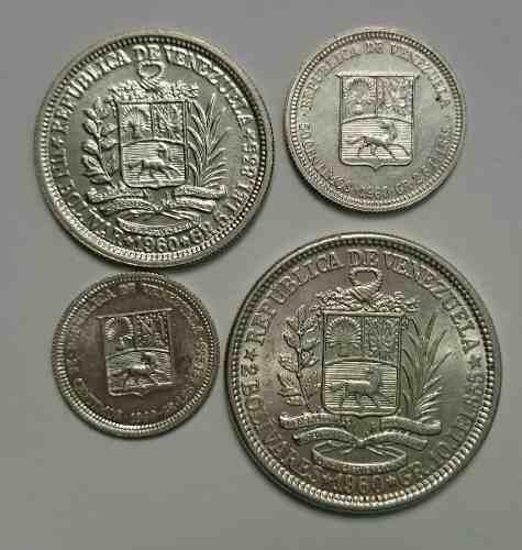 Hermoso Combo De Monedas De Plata Del Año