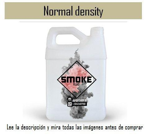 Liquido Para Maquina De Humo Densidad Media 3.7 Lts