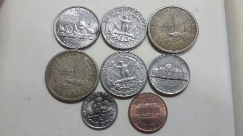 Lote De Monedas Americanas