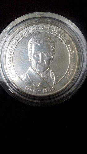 Moneda Bicentenaria Jose Maria Vargas.