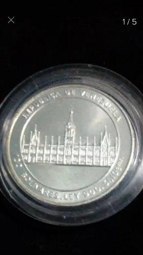 Moneda Conmemorativa. Bicentenario Del Dr. Jose Maria Vargas