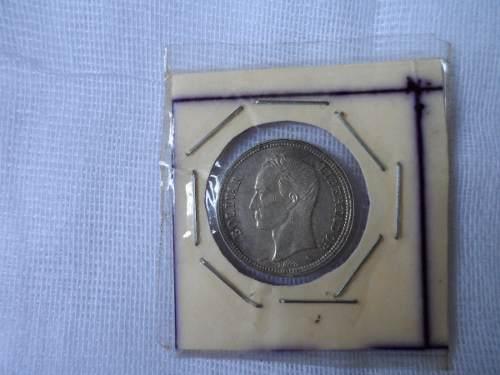 Moneda De 1 Bolivar Plata