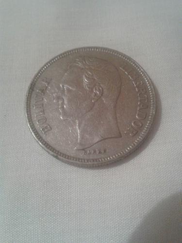 Moneda De 5 Bolivares De
