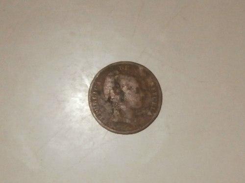 Moneda De Cobre De 1/2 Centvo De
