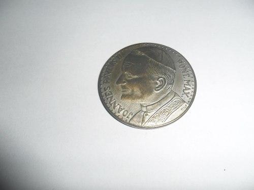 Moneda De Colección Juan Pablo Ii Del Vaticano