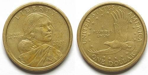 Moneda De Coleccion 1 Dollar Americano .