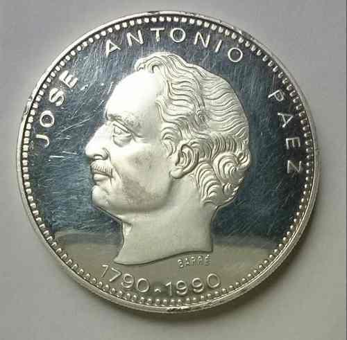 Moneda De Coleccion Bicentenario De Jose Antonio Paez