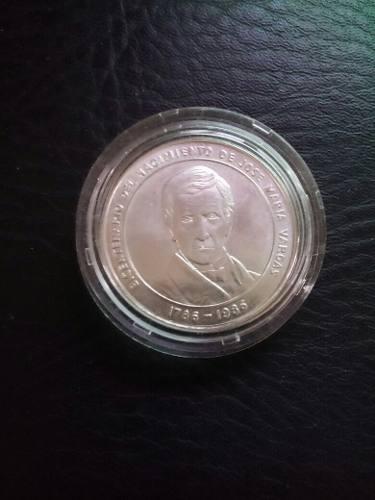 Moneda De Coleccion Bicentenario Jose Maria Vargas.