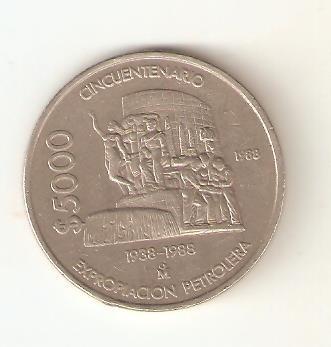 Moneda De Coleccion Cincuentenario