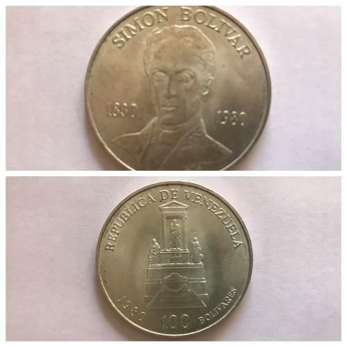 Moneda De Coleccion Simon Bolivar  Lea Descripcion
