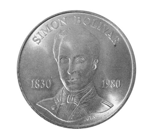 Moneda De Plata 100 Bolívares Simón Bolívar