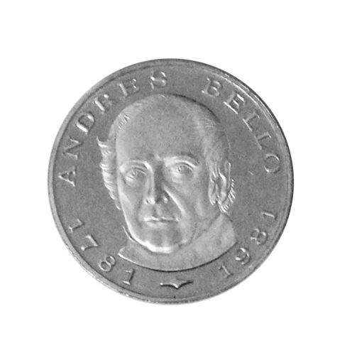 Moneda De Plata 100 Bs Bicentenario Andrés Bello
