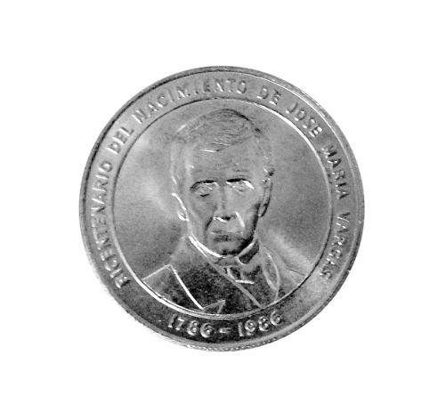 Moneda De Plata 100 Bs Bicentenario Jose M Vargas