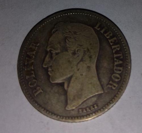 Moneda De Plata 2 Bs ) Precio C/u