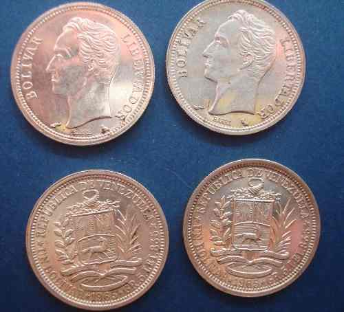 Moneda De Plata De 1 Bolivar Año