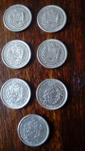 Moneda De Plata De 1 Bolívar