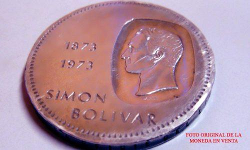 Moneda De Plata De 10 Bolívares, Doblón Plata Ley 900
