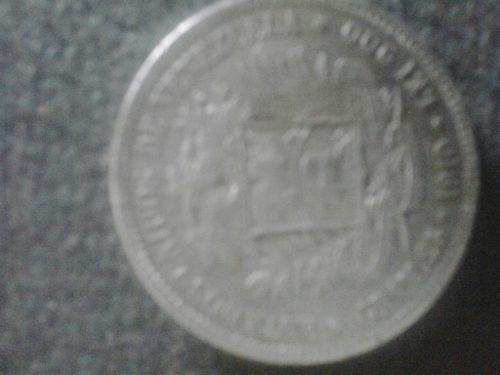 Moneda De Plata De  En Muy Buen Estado