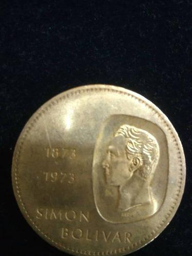 Moneda De Plata Doblon Simón Bolívar