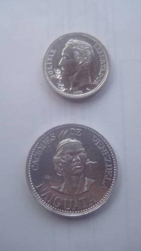 Moneda De Plata Lei 835 Y Caciques De Vnzla