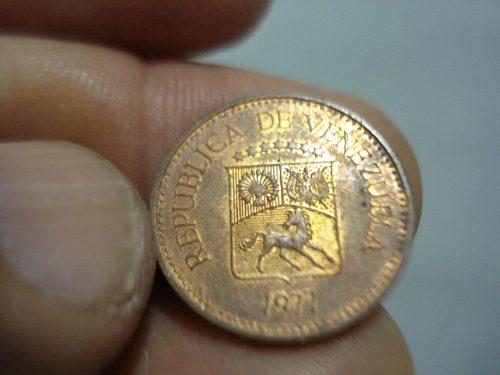 Moneda Venezolana Puya De Cobre De 5 Centimos Del Año