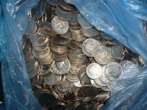 Monedas Antiguas Del 89 Y 90 Por Kilos