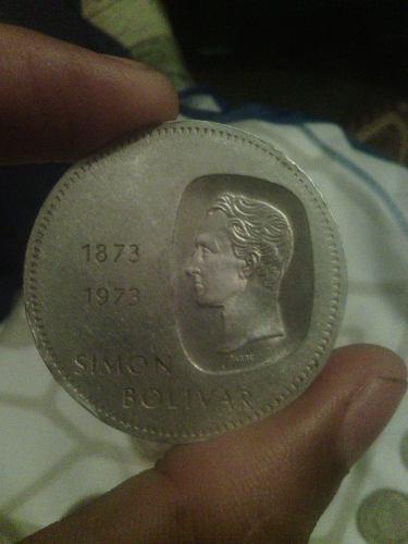 Monedas De Plata De Colección Simon Bolivar