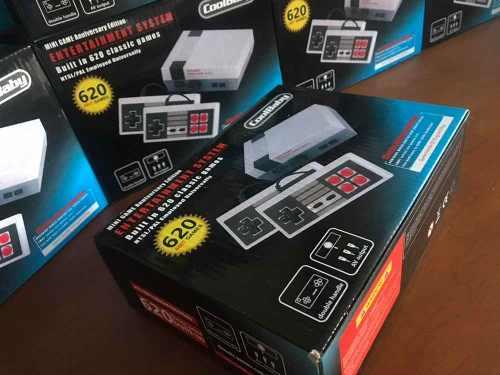 Nintendo Nes Mini 620 Juegos Incluidos Navidad
