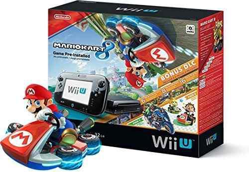 Nintendo Wii U 32gb Mario Kart 8 Deluxe Nuevo