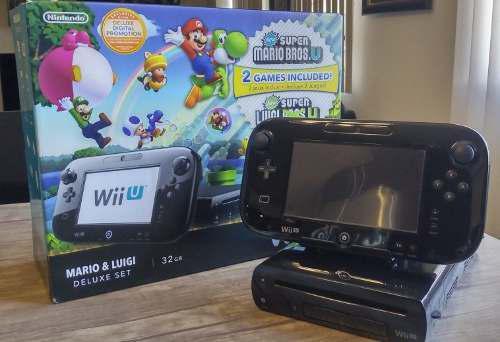 Nintendo Wii U + 9 Juegos Originales + Accesorios