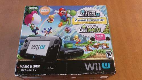 Nintendo Wii U Deluxe Set 32 Gb