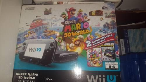 Nintendo Wii U Edicion Deluxe 32 Gb New.