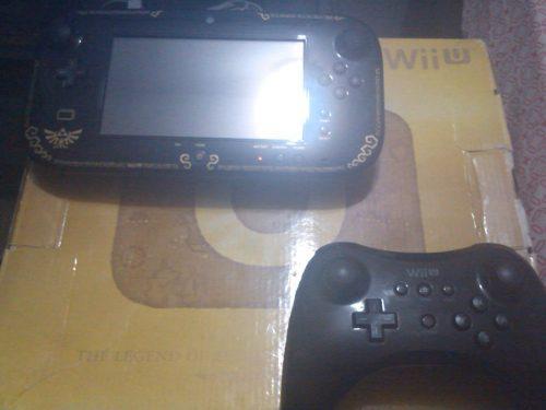 Nintendo Wii U Edicion Zelda Dorado + 11 Juegos + 2 Controle