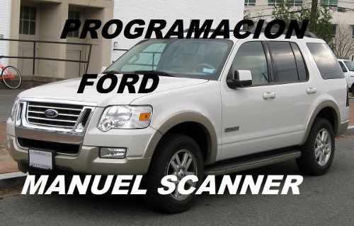 Programacion De Llaves Con Chip Para Vehículos Ford