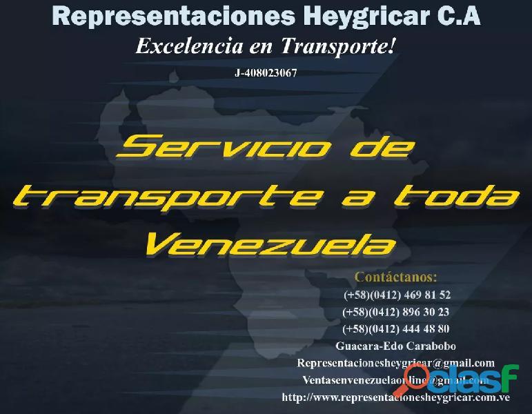 Servicio De Transporte Representaciones Heygricar C.A