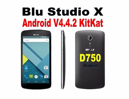 Software Original Blu Studio X D750