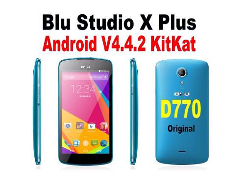 Software Original Blu Studio X Plus D770