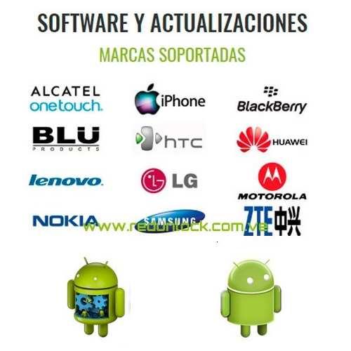 Software Y Liberación De Celulares De Todas Las Marcas