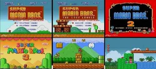 Super Mario All Star + Super Mario World Para Pc - Con Menu