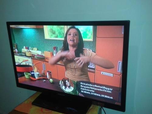 Tv Samsung De 40 Pulgadas + Blu Ray Sony De Obsequio