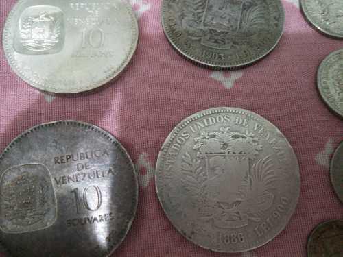 Vendo Colección De Monedas De Plata....