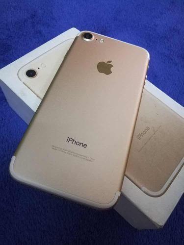 Vendo O Cambio Iphone 7 32gb Gold Liberado Impecable 400 D