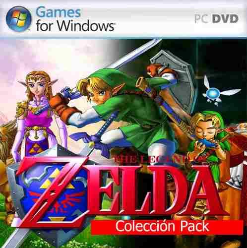 Zelda Pack Colección - Juegos The Legend Of Zelda Para Pc