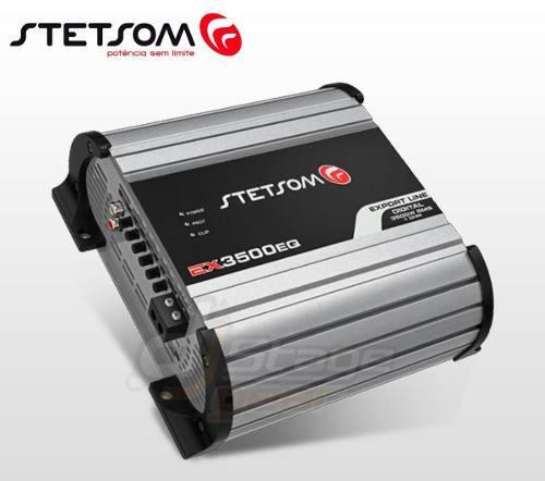 Amplificador Stetsom Ex3500eq 1ch / 1 Ohms Export Line