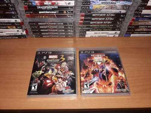 Capcom 3 Marvel Juegos Ps3 Y Muchos Juegos Más