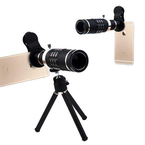 Cámara Del Teléfono Lente Kit 18 X Zoom Óptico