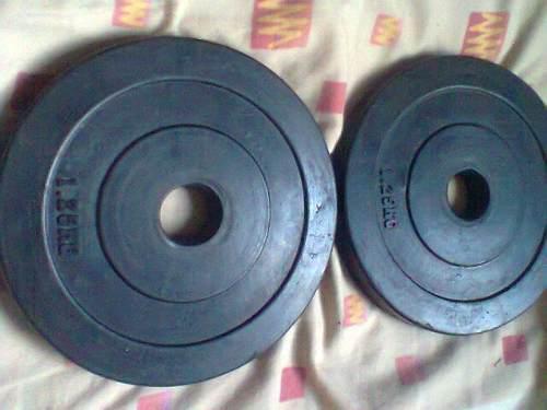Discos De Pesas 1.25kg Engomados