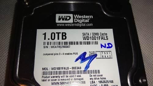 Discos Duro De 1 Tb Western Digital Para Reparar O Repuestos