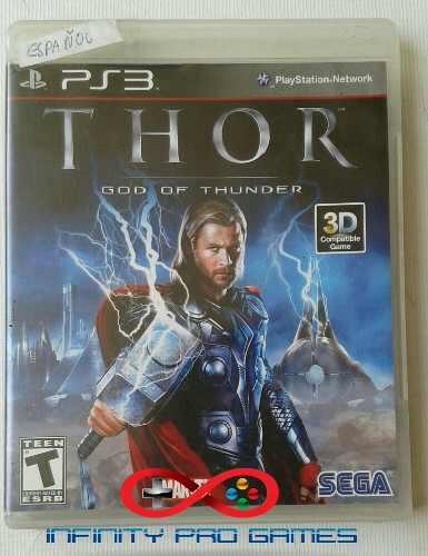 Juego Fisico Thor Original Para Ps3 Garantia